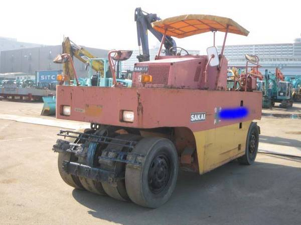 Used SAKAI Tyer Roller TS150, ( Used Roller, Used Tyre Roller, Used Heavy Machinery,Used Constructio