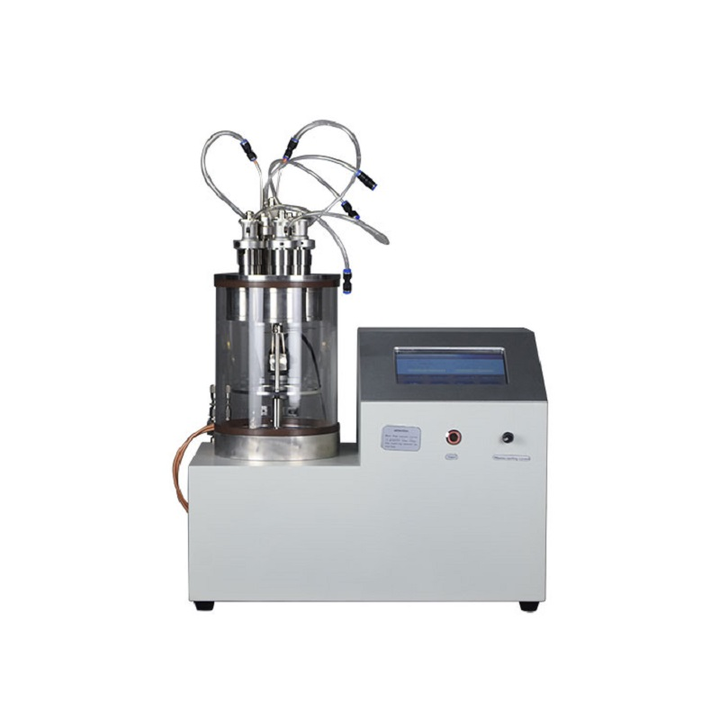 Compact Three-Head Rotary Plasma Sputtering Coater with Vacuum Pump for Gold, Silver and Copper Coat