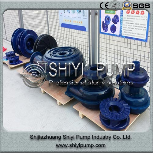 Polyurethane Centrifugal Slurry Pump Part in Mineral Processing