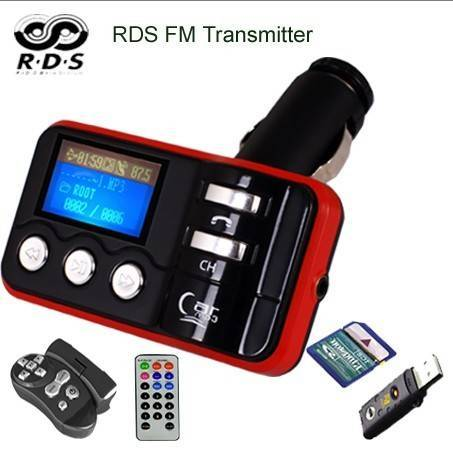 RDS FM Transmitter / RDS Car MP3 Modulator