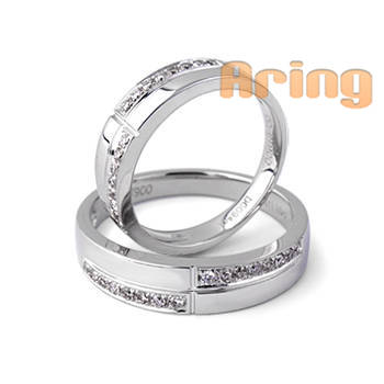 Wholesale 18k Gold Jewelry Diamonds Wedding Rings 18k gold jewelry
