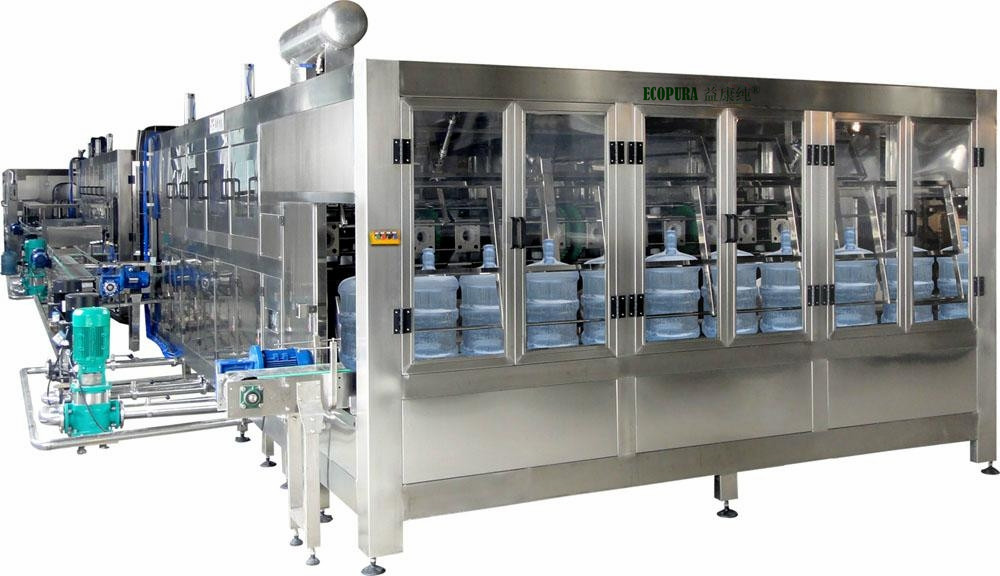 5Gallon Bottle Rinsing Filling Capping Machine