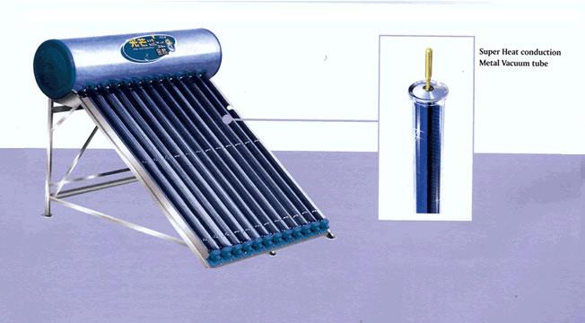 solar water heater of solar super heat conduction metal vacuum tube