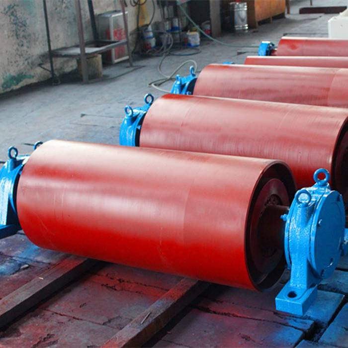 Tail Pulley with Rubber Lagging for Belt Conveyor