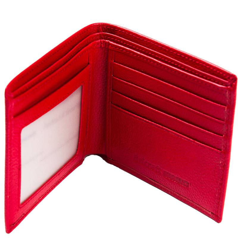 Female Pocket Bi-fold Security Clutch Slim Fold RFID Wallet Leather