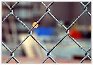 Anping Galvanized Used chain link fence