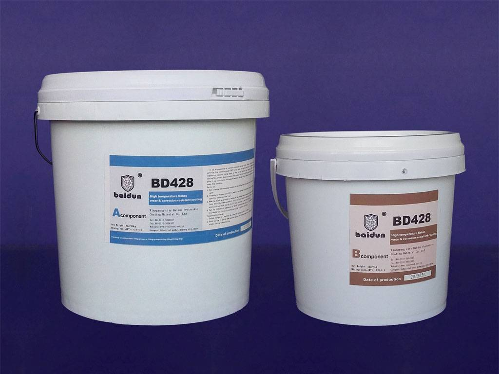 BD428 desulfuration system special flakes anti corrosive coatings