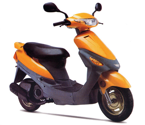 50CC scooter with EC homologation