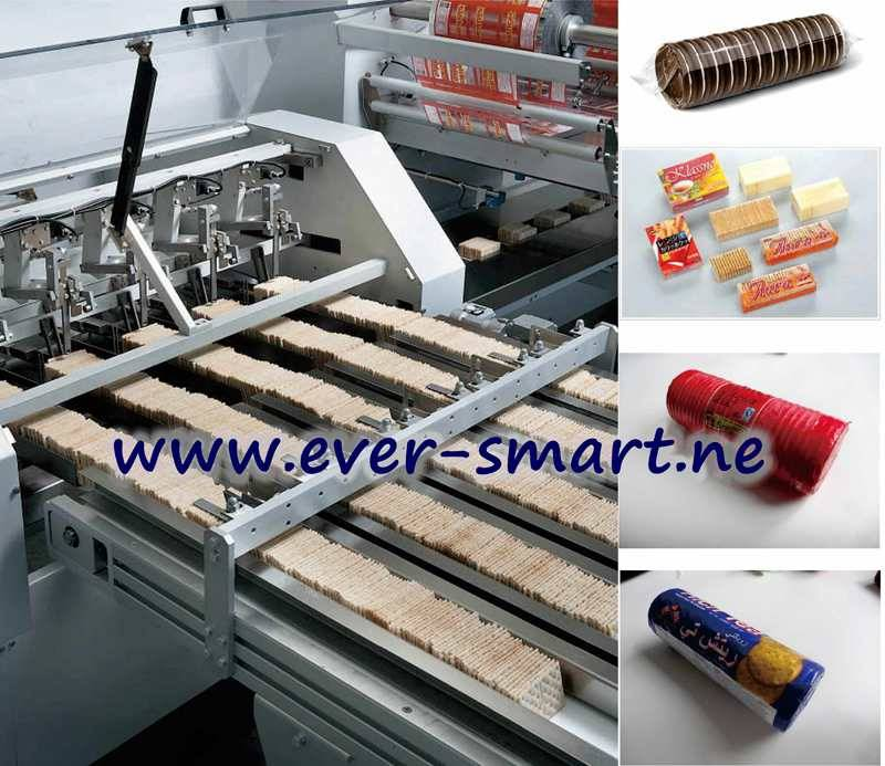 Automatic Counting System For Biscuit On-Edge Packing