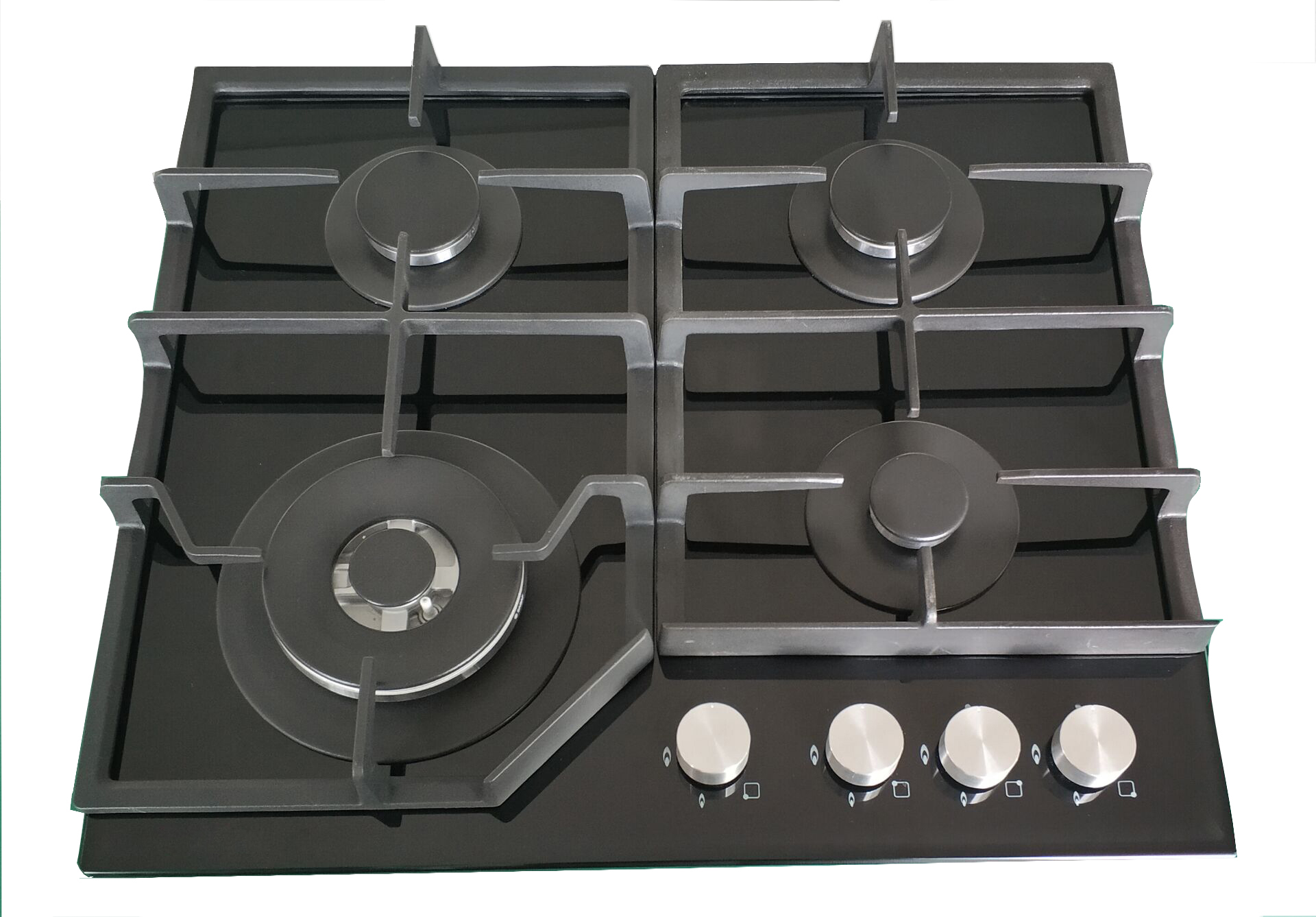 Built-in 4 burners gas stove/gas cooking hob/ tempered glass gas cooktop for sale