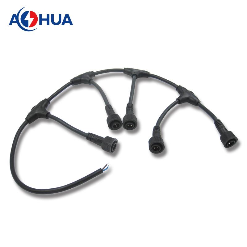 Waterproof T Series 4 Pin Rgb Led Strip Connector - Aohua