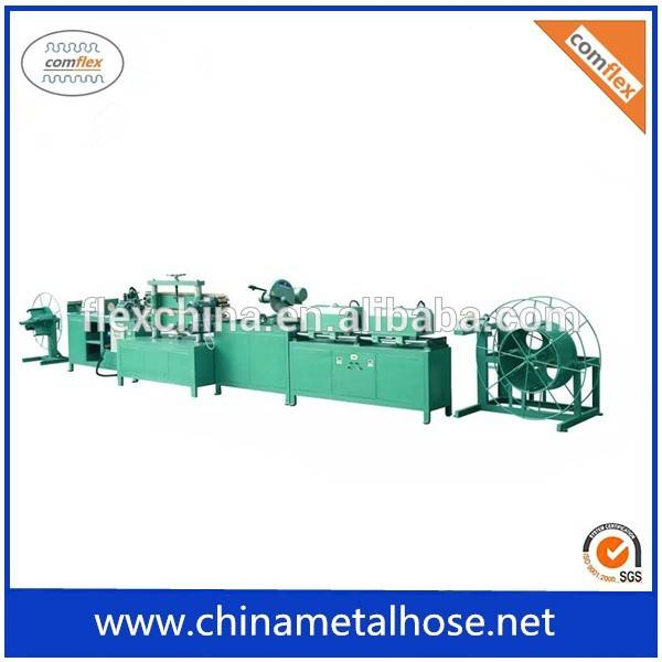 Mechanical corrugated water hose forming machine