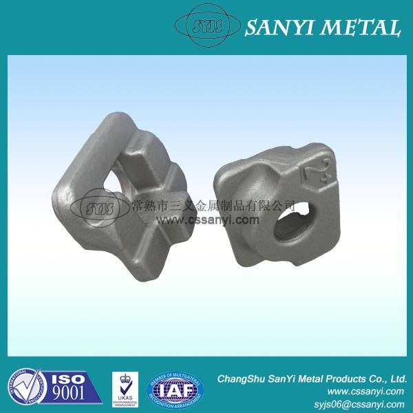 Rail clamps iron cast railway tools steel casting railway anchoring rail anchor clamp