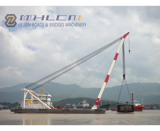 350t Derrick ship crane