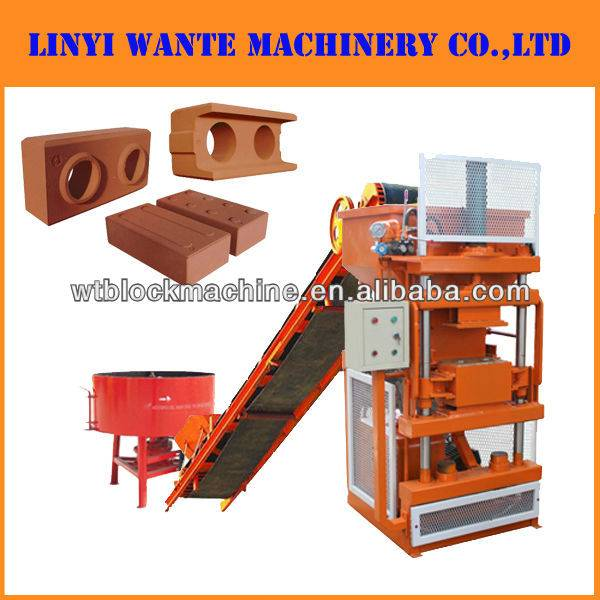 WT1-10 Automatic interlocking block machine