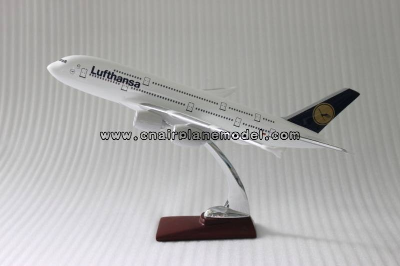 aircraft model A380 Lufthansa