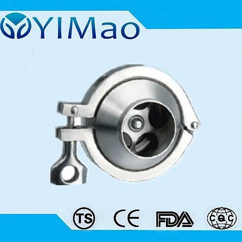 sanitary swing check valve,stainless steel sanitary check valve