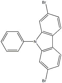 2,7-Dibromo-N-phenylcarbazole
