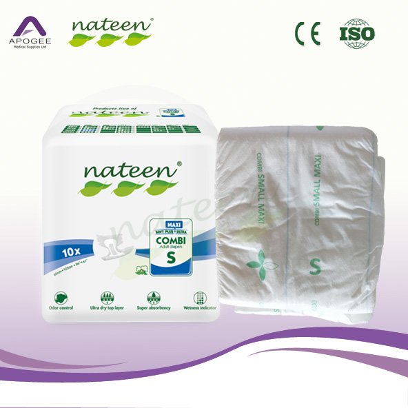 Super Absorbent High Quality Adult Diaper for Elderly Incontinence Hospital Use