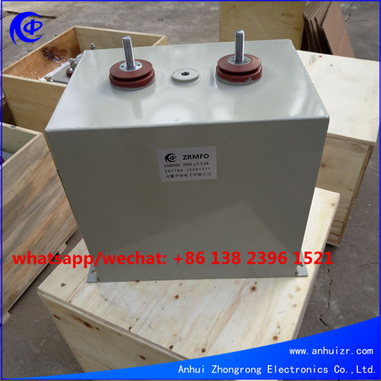 High Current Impulse Capacitor For Magnetizers