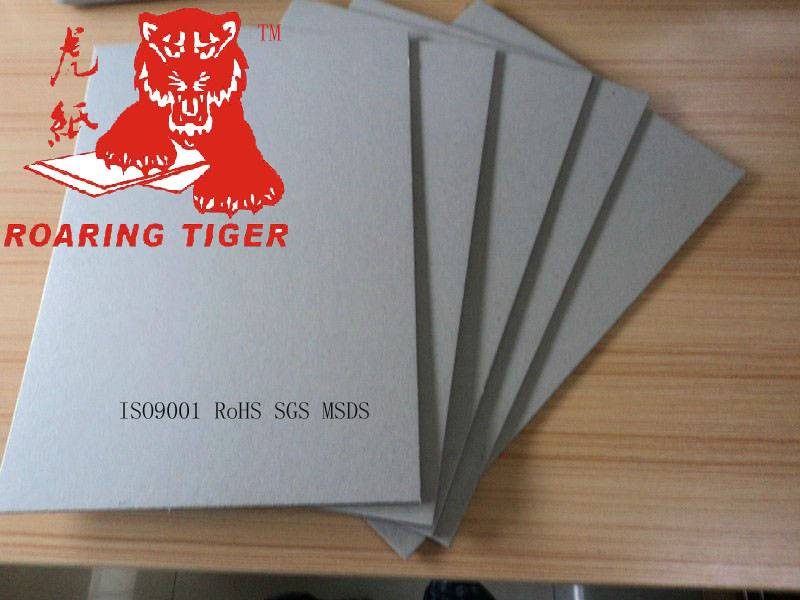 Laminated China 2mm Grey board/2.5mm gray chip board/3mm cardboard/1mm chipboard/1.5mm 3.0mm paper b