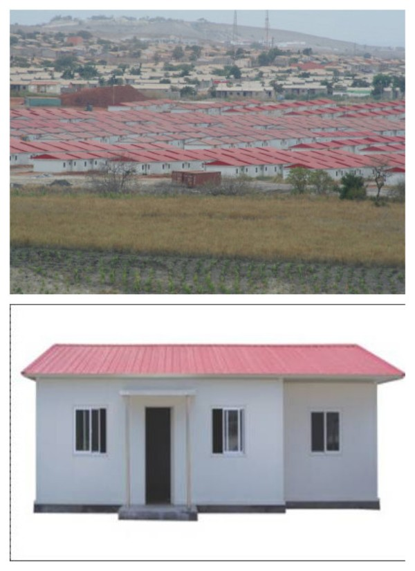 Lower cost Sandwich panel prefabricated house