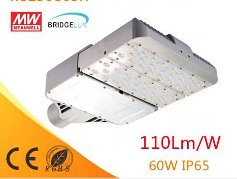 DLC,UL,CE,ROHS 5years warranty street lighting high power 60w led module street light