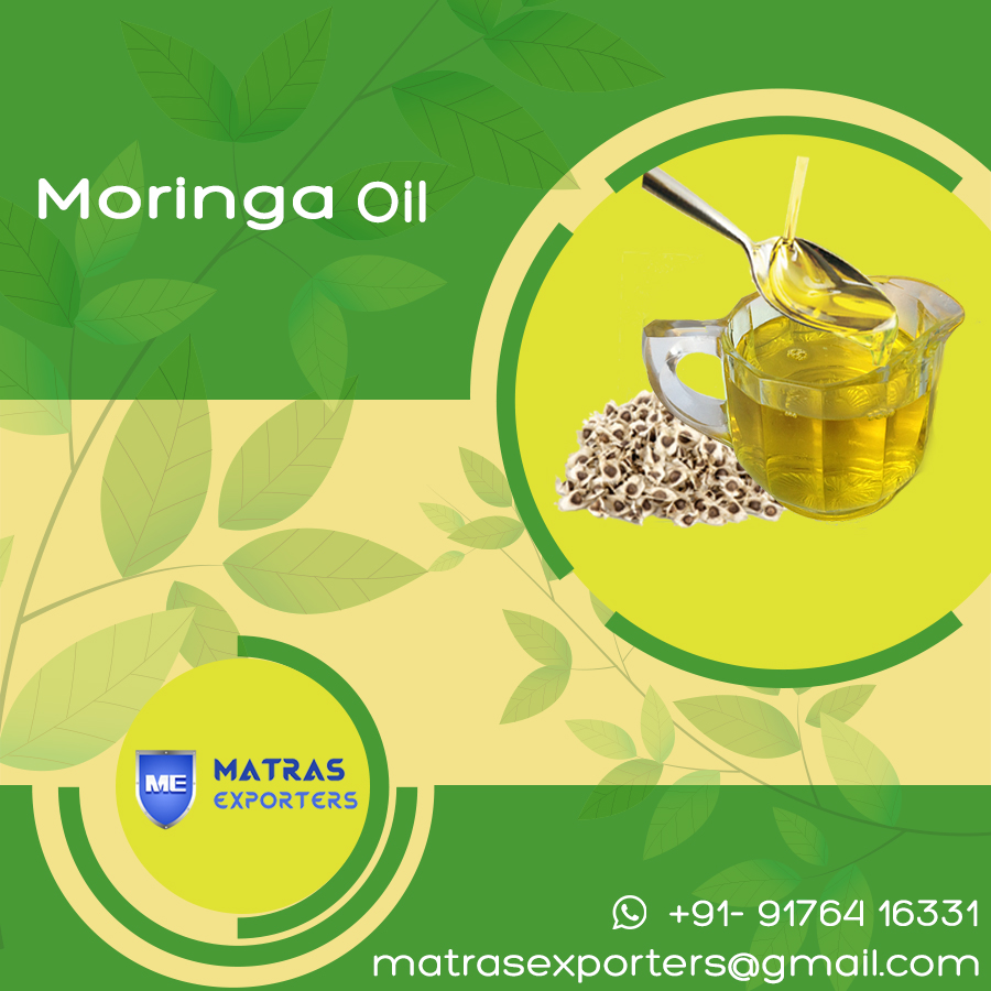 Moringa oleifera oil from India