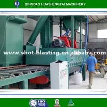 HQMarble shot blasting machine / stone pass through type shot blasting machine
