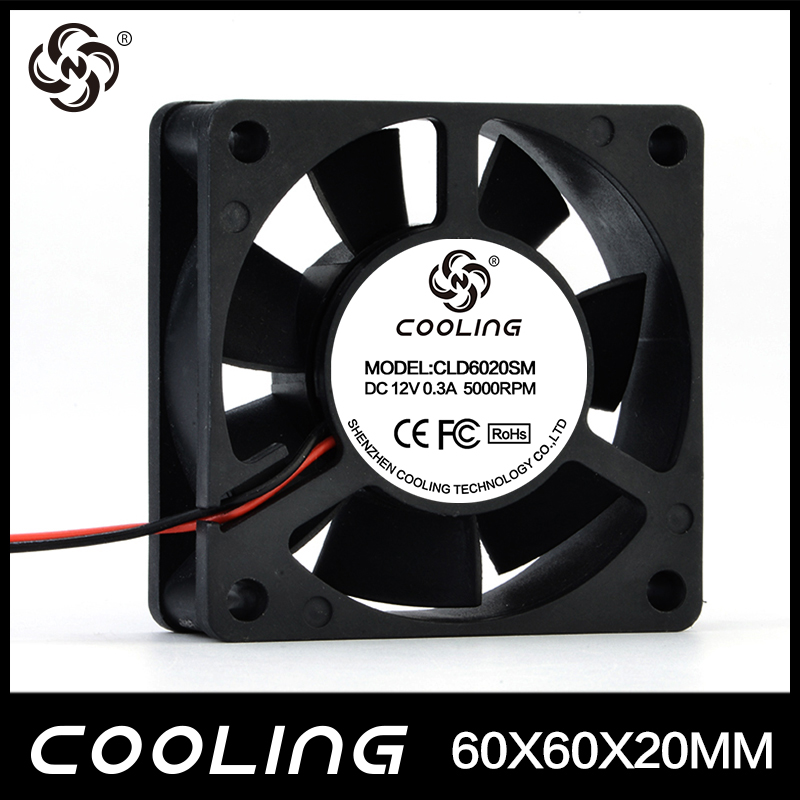 Manufactory Selling DC 6020 Brushless Cooling Fan 606020mm for DVR