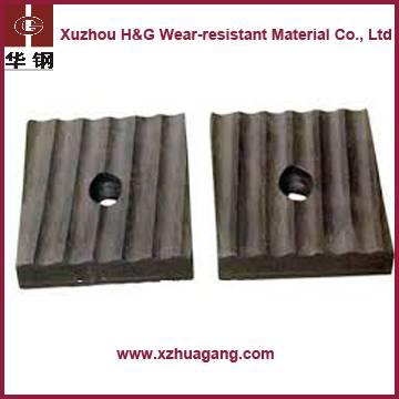 H&G high hardness ball mill liner plate