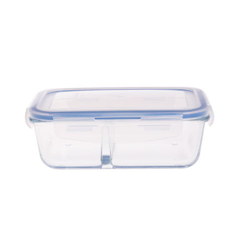 IKOO GLASS heat resistant glass food container