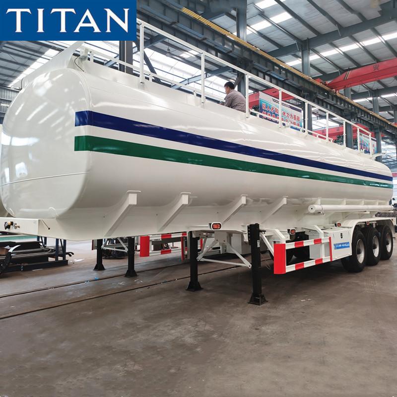 50CBM Fuel Tanker Trailer for Sale in Botswana