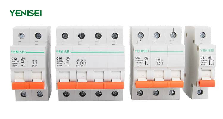 dz47-63 circuit breaker best mcb YB3 type