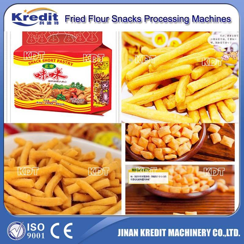 Frying snack production line