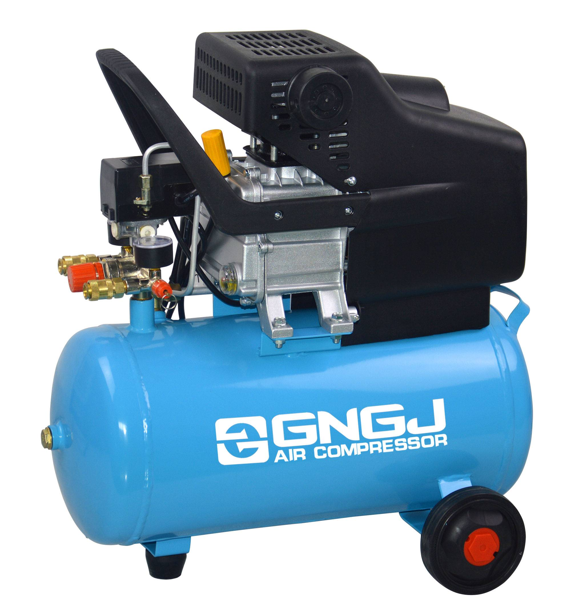 2HP CE Approved 24L Direct driven Portable Air Compressor