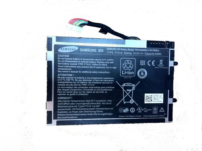 Hot Sale New Model Laptop Battery, Replacement for Dell Alienware M11X, 14.8V Voltage