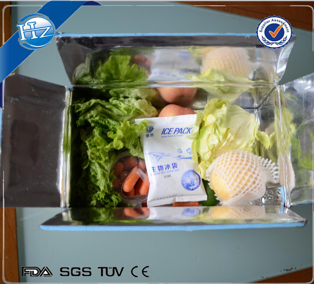 cooler insulation packaging for shipping box