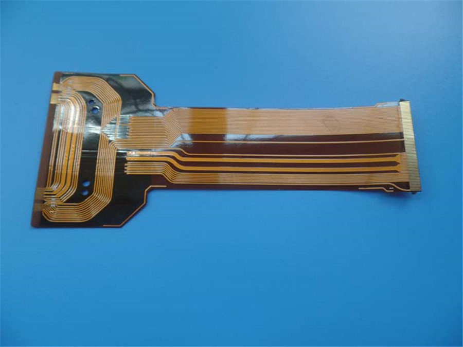 Flexible Printed Circuits Double-sided flexible PCBs Immersion Gold FPC Polyimide PCBs