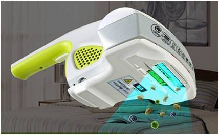 UV Vacuum Cleaner and mites killer