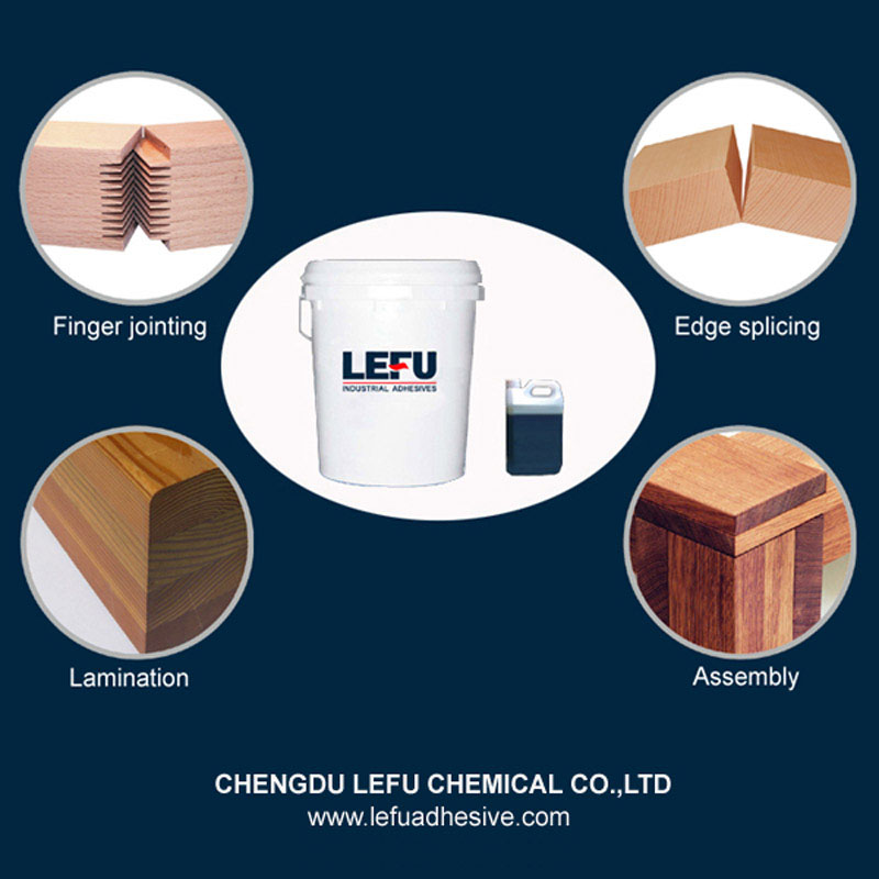 Two Component Water Based EPI Wood Glue for Bonding Soft Solid Wood