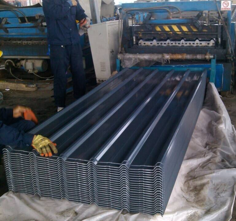 PPGI --prepainted steel roofing sheet