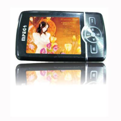 "mp4 with 2.4"" TFT display,button with color lights"