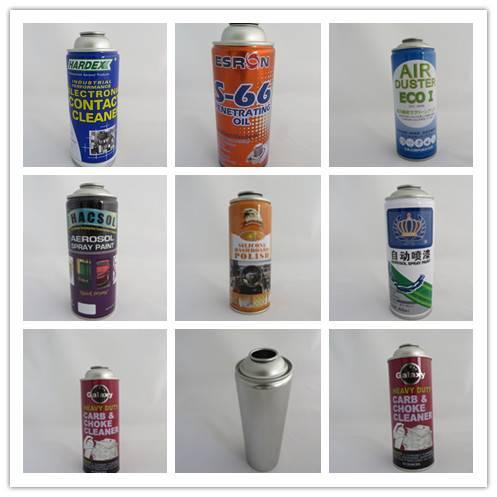 Aerosol can tin can manufacturer various sizes