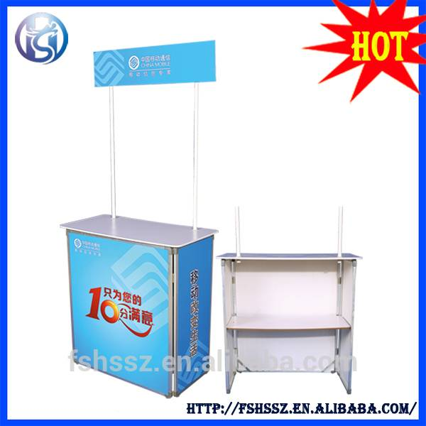 Cheap price high quality advertising promotion table HS-CX05