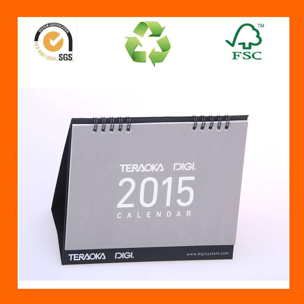 Woodfree Custom Tear Off Paper Table Calendar