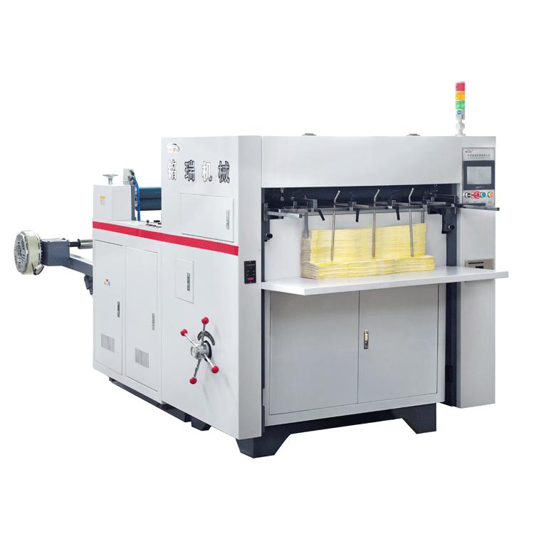 MR-850E fully automatic die cutting machine and creasing machine