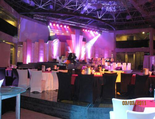 events staging and construction
