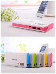 external power bank large capacity power backup 7500mah smart phone iphone power supply portable min