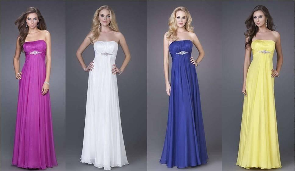 2014  Custom Made Top Quality Rose/White/Yellow/Blue Satin Chiffon Crystal Beading Bridesmaid Dress